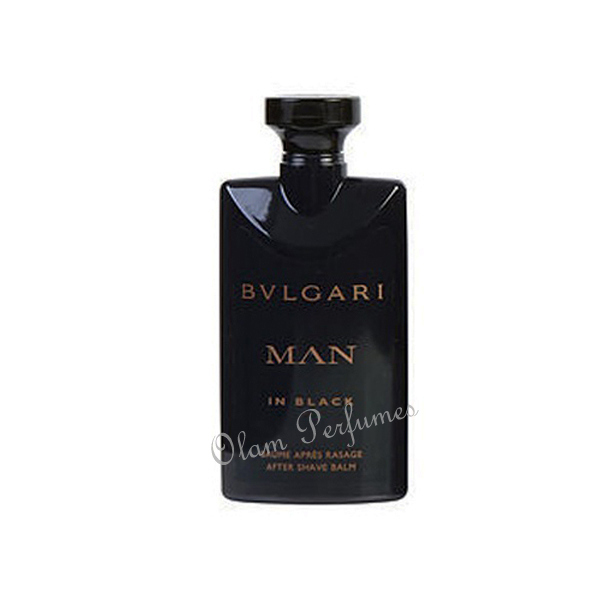 Bvlgari Man In Black After Shave Balm 2.5oz 75ml